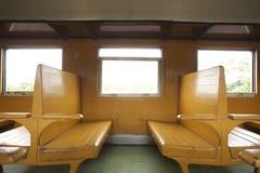 Train seats Royalty Free Stock Photography