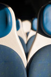 Train seats. For a comfortable trip Royalty Free Stock Image