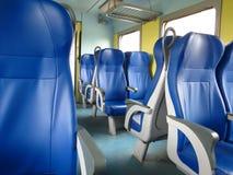 Train seats Stock Photos