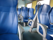 Train seats Stock Image