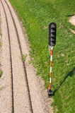 Train semaphore Royalty Free Stock Image