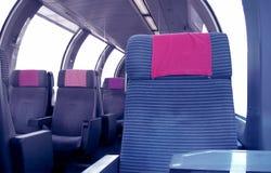 Train series - seats Royalty Free Stock Photo