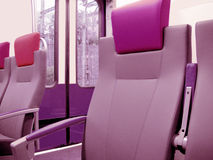 Train series - seats Royalty Free Stock Photo