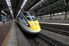Train service in Kuala Lumpur, Malaysia Royalty Free Stock Photos