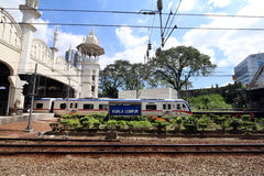Train service in Kuala Lumpur, Malaysia - Series 5 Royalty Free Stock Photos