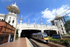Train service in Kuala Lumpur, Malaysia - Series 6 Royalty Free Stock Image
