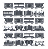 Train set vector illustration