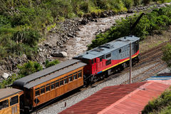 Train at Sibambe Station Stock Images