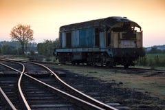 Train at sidings Royalty Free Stock Images