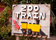 Train Sign Stock Photography
