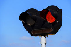 Train signal Stock Image