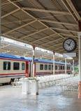 Train on Sirkeci railway station Stock Photos