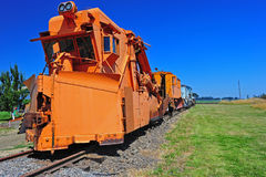 Train Snow Plow Royalty Free Stock Images