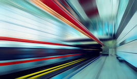 Train on speed Royalty Free Stock Photography
