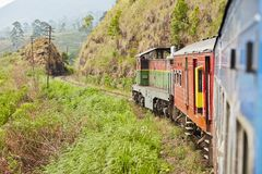 Train in Sri Lanka Royalty Free Stock Image