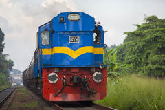 Train in srilanka Royalty Free Stock Photos