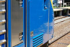 Train at Station Royalty Free Stock Image