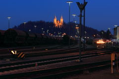 Train station Royalty Free Stock Image
