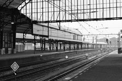 Train Station. An old train station in Holland, Europe Royalty Free Stock Image