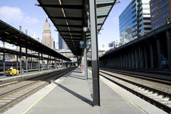 Train station Stock Photography