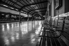 Train station. Empty train station, Zagreb, Croatia Stock Images