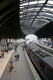 Train station. Of York, England royalty free stock photo