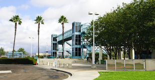 Train Station. In Southern California with a blue sky Stock Photography