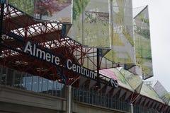 Train Station Almere Centrum in Almere, The Netherlands. A picture of Train Station Almere Centrum in Almere, The Netherlands stock photography