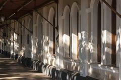 Train Station in Amparo Royalty Free Stock Photos