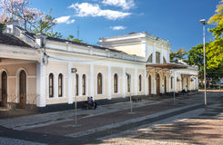 Train Station in Amparo Stock Photography