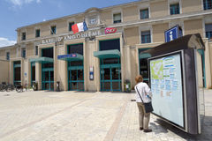 Train station of Angouleme, France Royalty Free Stock Photo