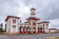 Train station in Antsirabe. Madagascar Stock Photo