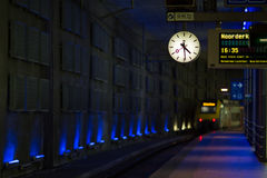Train in station Stock Images