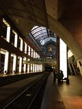 Train station in Antwerp, Belgium Stock Photo