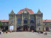 The Train Station from Arad. Romania Stock Image