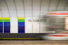 Train station Royalty Free Stock Photography