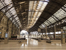 Train station. Barcelona. Stock Image