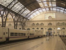 Train station. Barcelona. Stock Photography