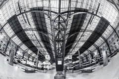 Train Station in Barcelona Royalty Free Stock Photo