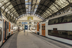 Train Station in Barcelona Royalty Free Stock Photos
