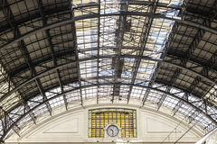 Train Station in Barcelona Royalty Free Stock Images
