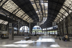 Train Station in Barcelona Royalty Free Stock Photography
