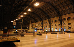 Train Station in Barcelona, Spain Stock Images