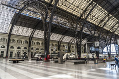 Train Station in Barcelona Stock Photography