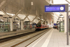 Train Station. Berchtesgaden. Germany Royalty Free Stock Photography