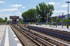 Train Station in Berlin Stock Photos