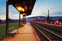 Train station in Bratislava Royalty Free Stock Photography