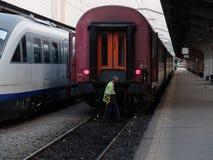 Train station Stock Photos