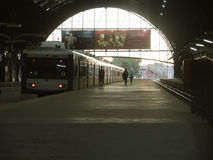 Train station, Buenos Aires. Photo taken in april 2013 in Retiro station Royalty Free Stock Image