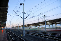 Train station of Ciudad Real, Spain Stock Photography